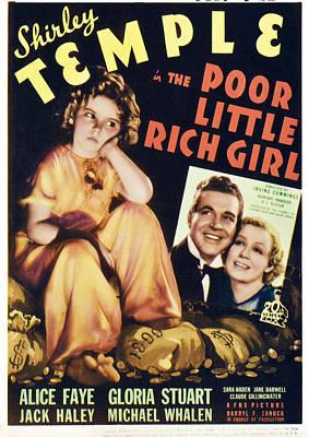 Whalen Photograph - Poor Little Rich Girl, From Left by Everett