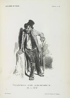 Vagabond Photograph - Poor Man by British Library