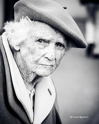 Photograph - Poor Old Lady by Stwayne Keubrick