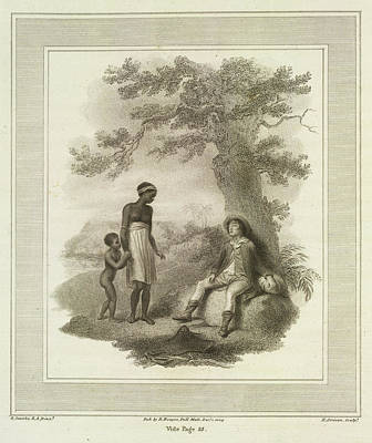Poor White Man Print by British Library
