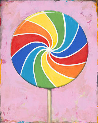 Candy Painting - Pop Art #1 by David Palmer