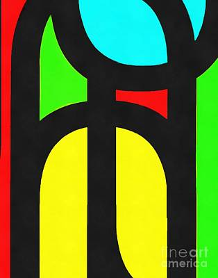 Photograph - Pop Art Abstract 1 by Edward Fielding