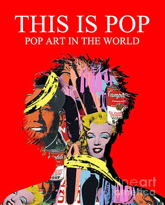 Pop Art Art Print by Elena Mussi