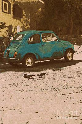 Pop Art Micro Car Original by Alanna DPhoto