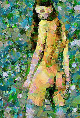 Digital Painting - Pop Art Nude by Mario Carini