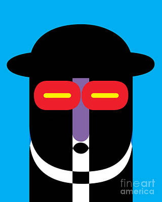 Royalty-Free and Rights-Managed Images - Pop Art People 10 by Edward Fielding
