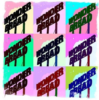 Pop Art Series - Wonder Bread Art Print by Ron Grafe