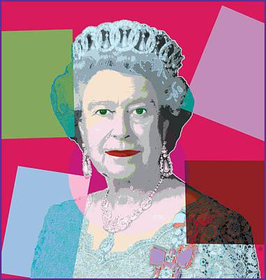 Modern Digital Art Digital Art Digital Art - Pop Queen by Gary Grayson