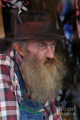 Maggie Valley Photograph - Popcorn Sutton by Larry Wright
