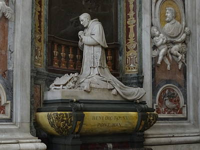 Photograph - Pope Benedict Xv by Alan Lakin