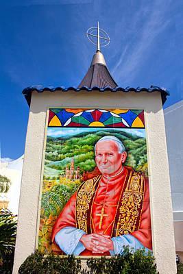 Photograph - Pope John II by Carlos Diaz