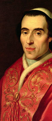 Clergy Painting - Pope Pius Vii by Anonymous