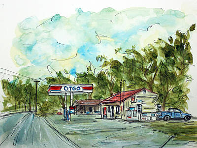 Nashville Tennessee Painting - Pott's Grocery by Tim Ross