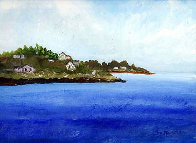 Painting - Popham Maine Plein Air by Shana Rowe Jackson