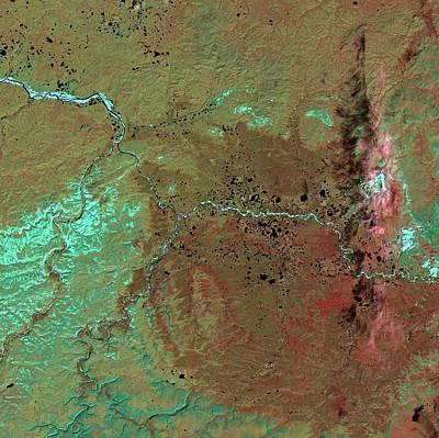 Popigai Crater Art Print
