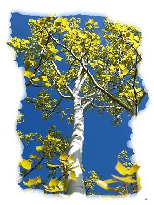 Upbeat Digital Art - Poplar Tree In Spring  by Will Borden