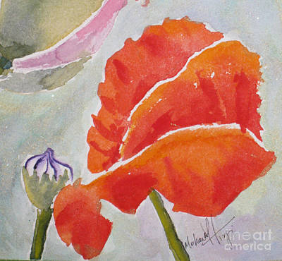 Fineartamerica.com Painting - Poppies 1 by Mohamed Hirji