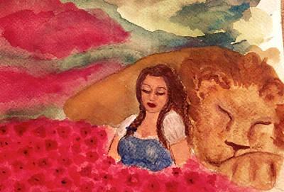 Poppies And Sleep Art Print