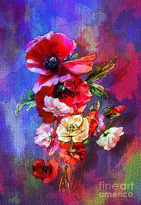 Poppies Art Print by Andrzej Szczerski