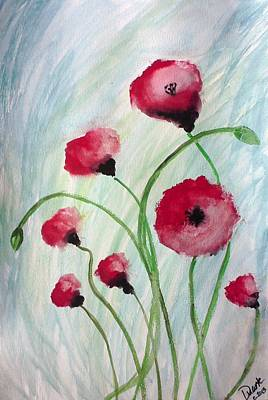 Painting - Poppies by Carol Duarte