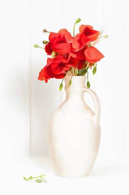 Seedhead Photograph - Poppies by Amanda Elwell