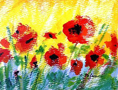Painting - Poppies by Cristina Stefan