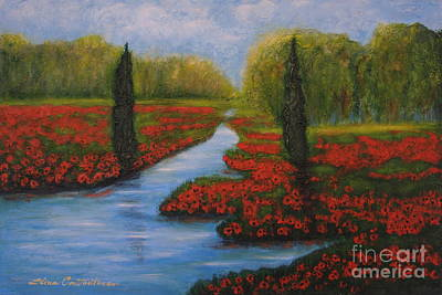 Poppies Guards Art Print
