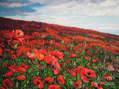 Painting - Poppies Impression by Andrei Attila Mezei