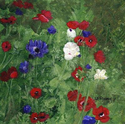 Painting - Poppies by Linda Feinberg