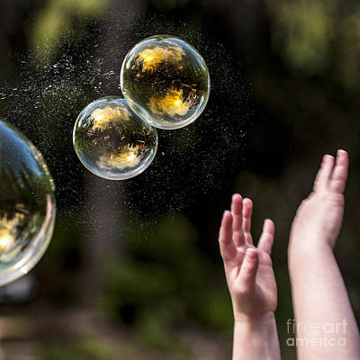 Poppin Bubbles Art Print by Darcy Michaelchuk