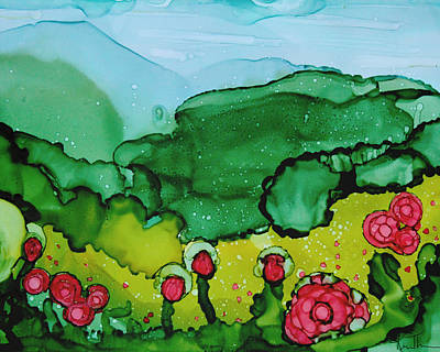 Painting - Poppin Poppies by Kim Thompson