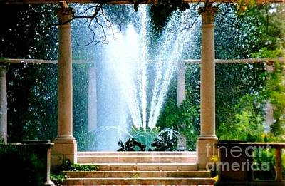 Photograph - Popps Fountain At City Park In New Orleans Louisiana by Michael Hoard