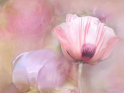 Poppy And Peony Art Print