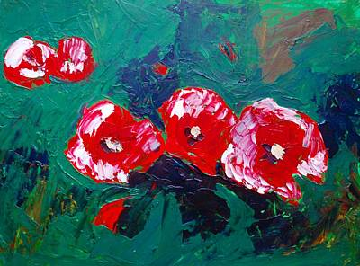Painting - Poppy Fantasia by Dorothy Berry-Lound