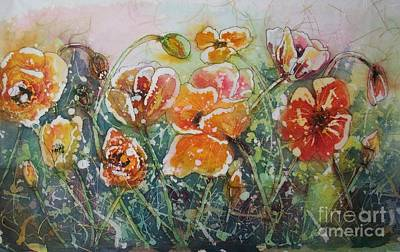 Painting - Poppy Field by Carol Losinski Naylor