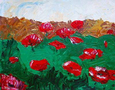 Painting - Poppy Field by Dorothy Berry-Lound