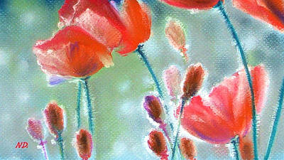 Painting - Poppy Field by Natasha Denger