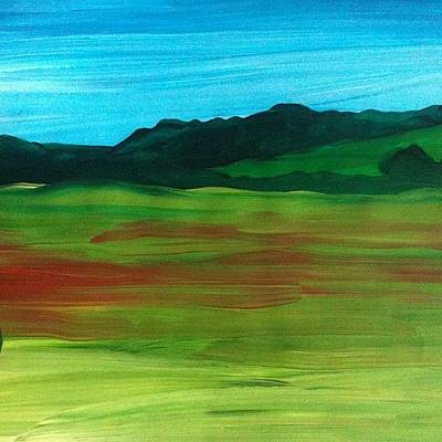 Expressionism Wall Art - Photograph - Poppy Field by Stephen Lock