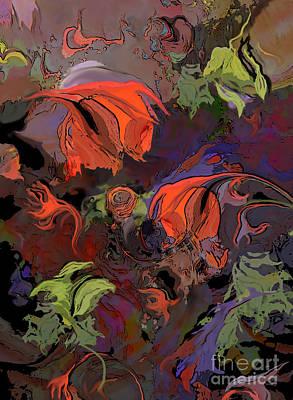 Digital Art - Poppy Fields by Ursula Freer