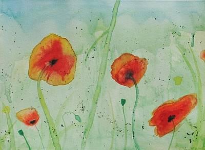 Poppy Flowers Original