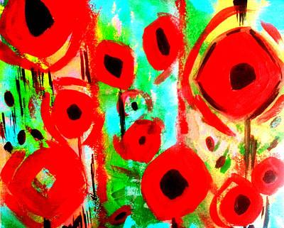Painting - Poppy Love by Nikki Dalton