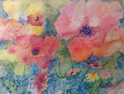 Painting - Poppy Love by Renate Nadi Wesley