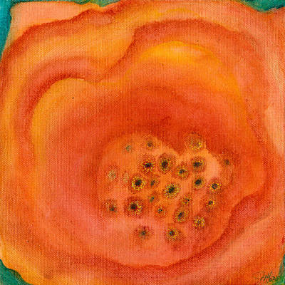 Painting - Poppy by Margarita Puckett