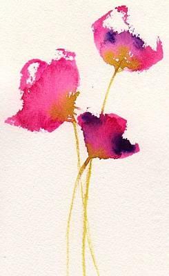 Poppy Pirouette Art Print