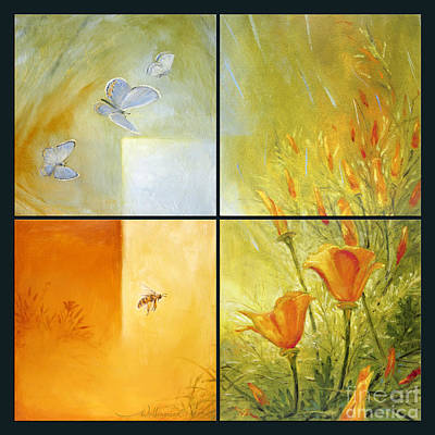 Painting - Poppy Pollination by Randy Wollenmann