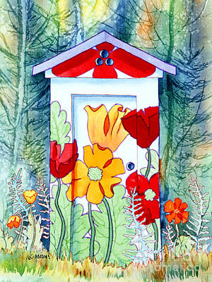 Poppy Potty Art Print