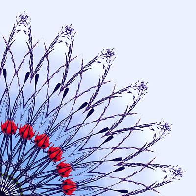 Digital Art - Poppy Power 3 by Wendy Wilton