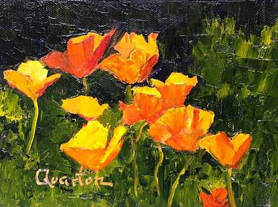 Painting - Poppy Procession by Lori Quarton