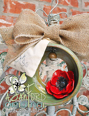 Poppy Seed And Feed Original by Amanda  Sanford