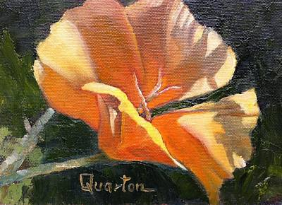 Painting - Poppy Shadows by Lori Quarton